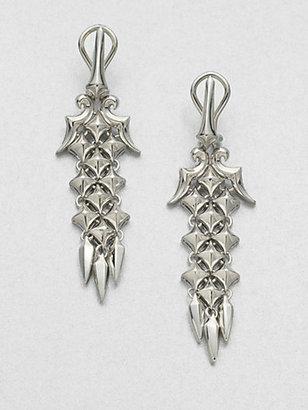 Stephen Webster Sterling Silver Drop Earrings