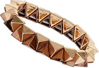 Topshop Two Tone Spike Bracelet