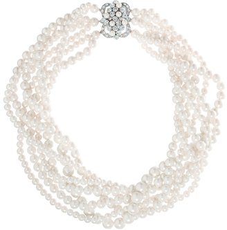 Brooks Brothers Pearl Seven-Row Necklace