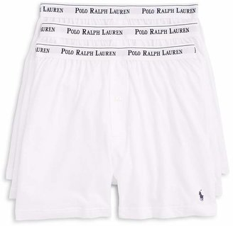 Polo Ralph Lauren Knit Boxers, Pack of 3 $39.50 thestylecure.com