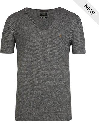 AllSaints Messah Tonic Scoop T-shirt