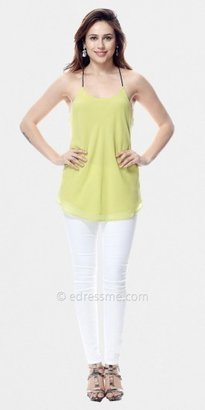 Adrianna Papell Strappy Racerback Tank Tops by Classique