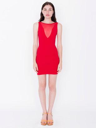 American Apparel Cotton Spandex Sleeveless Gloria-V Dress