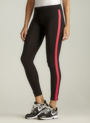 Calvin Klein Pink Stripe Performance Quick Dry Legging
