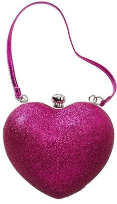 Gap Glitter heart purse