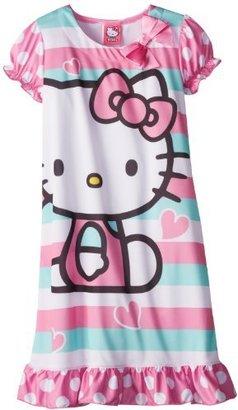 Hello Kitty Girls 7-16 Polka Dot Nightgown