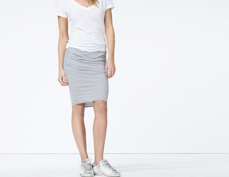 James Perse Stripe Pencil Skirt