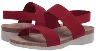 Munro American Pisces (Platinum Lizard Print) Women's Sandals