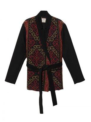 Giada Forte Ikat Belted Coat
