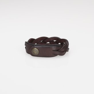 Polo Ralph Lauren Braided Leather Wrist Strap