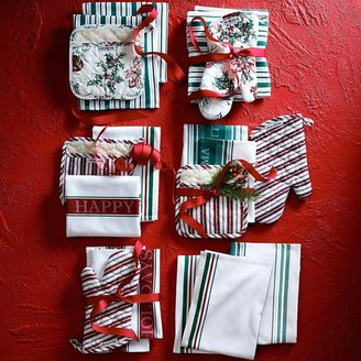 Williams-Sonoma Happy Holidays Towels, Set of 2