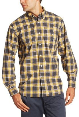 Nautica Men's Long Sleeve Plaid Shirt