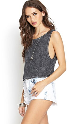 Forever 21 Heathered Muscle Tee