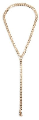 MANGO Outlet Metal Chain Necklace