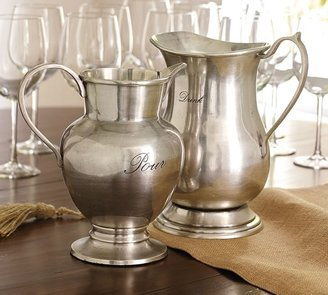 Pottery Barn Antique-Silver Pitchers