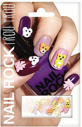 Nail Rock Frou Frou teddy bear nail wraps
