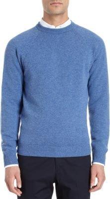 Barneys New York Raglan Sleeve Crewneck Sweater