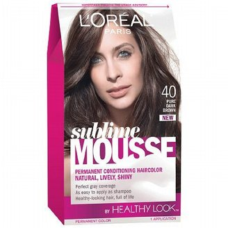 L'Oreal Sublime Permanent Hair Color Pure Dark Brown