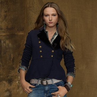 Denim & Supply Ralph Lauren Cotton Officer's Jacket