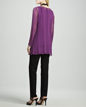 Eileen Fisher Airy Linear Long Tunic, Women's
