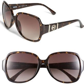 MICHAEL Michael Kors 56mm Square Sunglasses