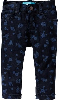 Old Navy Floral Print Skinny Jeans for Baby