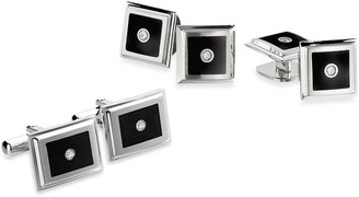 Bed Bath & Beyond STELTM Stainless Steel Black Enamel and Diamond Collection