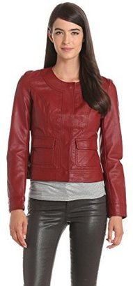 KUT from the Kloth Women's Faux Leather Jacket