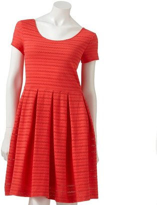 So perforated dress - juniors
