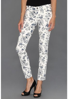 Vince Camuto TWO by Ankle Jean In Porcelain Flowers in New Ivory (New Ivory) - Apparel