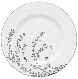 Kate Spade Gardner Street Platinum Salad Plate
