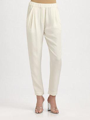 3.1 Phillip Lim Silk Ankle Pants