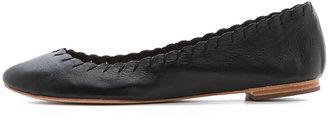 Loeffler Randall Karlotta Stitched Flats