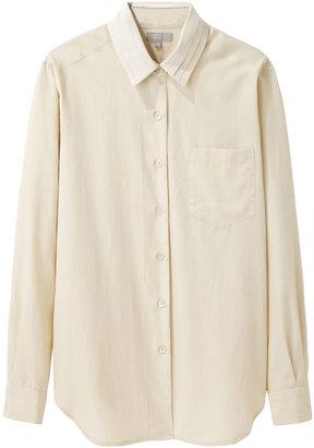 Margaret Howell ribbon collar shirt