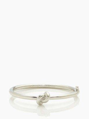Kate Spade sailor's knot hinge bangle