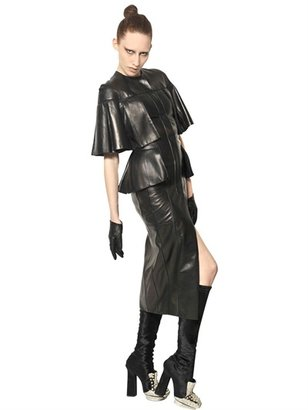 Alexander McQueen Nappa Leather Dress