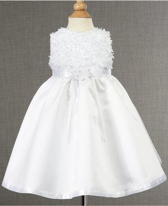 Lauren Madison Baby Dress, Baby Girls Soutache Christening Dress $55 thestylecure.com