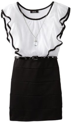 Amy Byer Girls 7-16 Blouse Bodycon Skirt