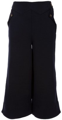Marc by Marc Jacobs Cropped wide leg trouser