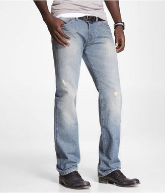 Express Rocco Slim Fit Straight Leg Jean