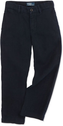 Ralph Lauren Suffield Linen Pants, Aviator Navy