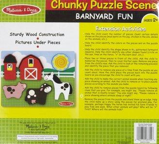Melissa & Doug Chunky Scene - Barnyard Fun