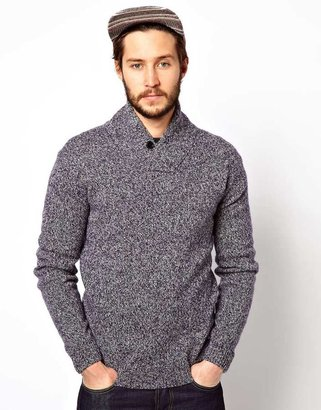 Penfield Jumper with Shawl Collar