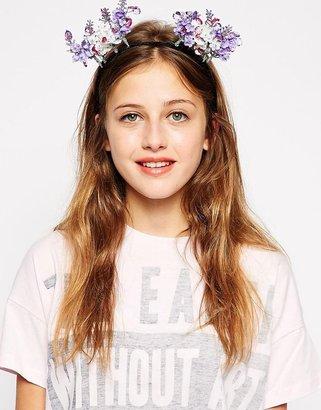 Johnny Loves Rosie Mini Floral Ears Headband