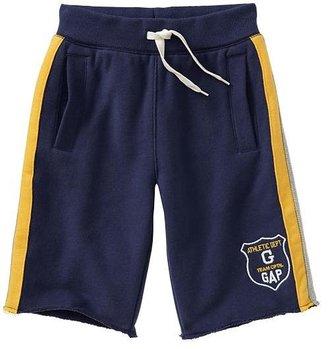 Gap Side-stripe fleece active shorts