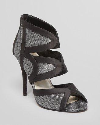 Caparros Peep Toe Evening Booties - Irene High Heel