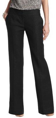 LOFT Petite Marisa Trouser Leg Pants in Linen