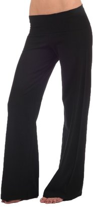 Hard Tail Rollover Wide Leg Pant $68 thestylecure.com