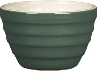Crate & Barrel Parker Dark Green Mini Bowl
