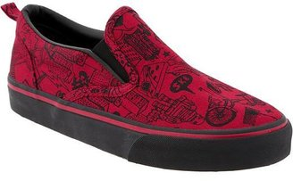 Old Navy Boys Patterned Slip-On Sneakers